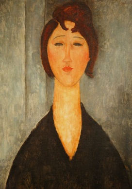 Portrait of a young Woman (1918)